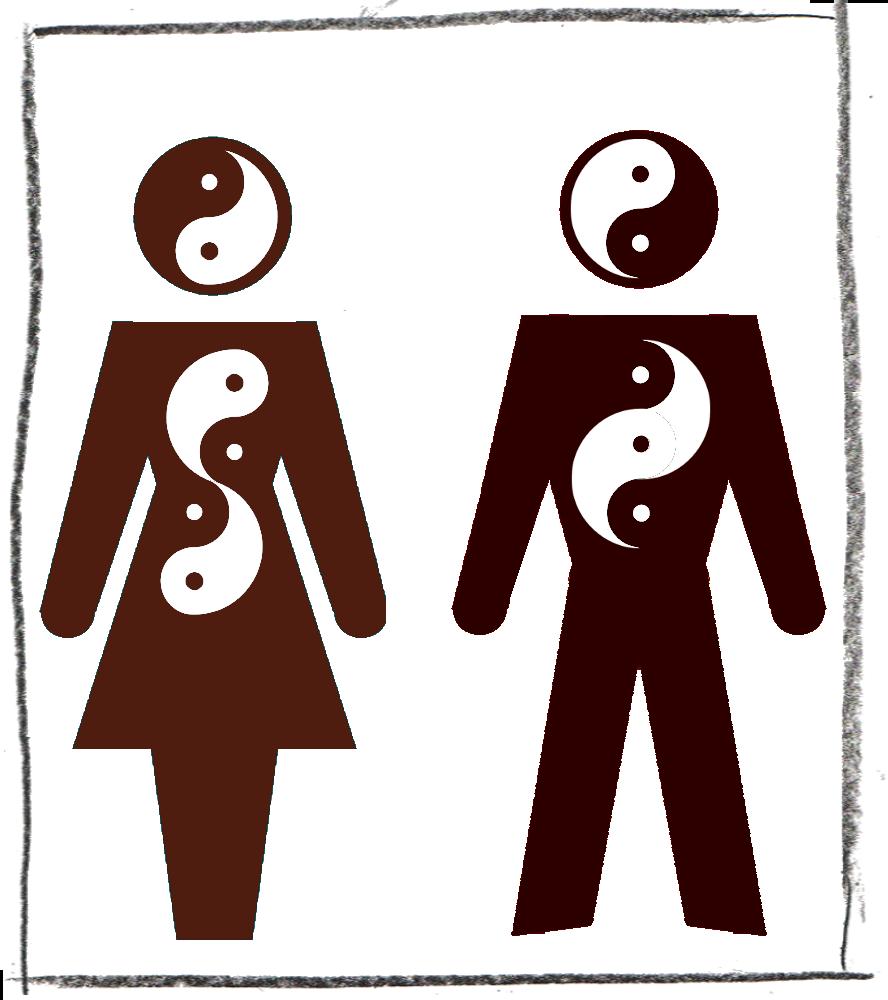 ganz mann, ganz frau: der tanz von yang und yin